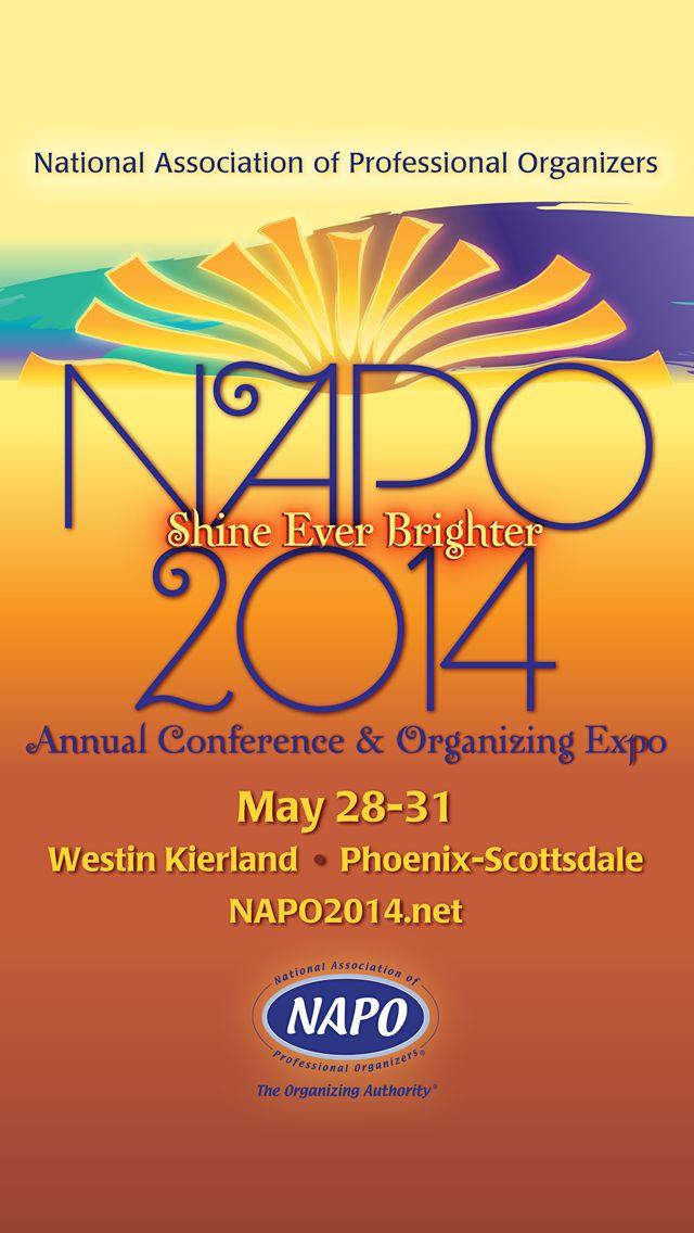 NAPO 2014 Conference badge