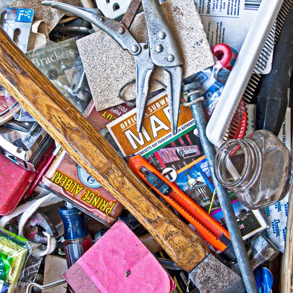 Junk drawer content