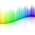 abstract spectrum image