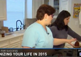 Gayle Goddard on KHOU News segment