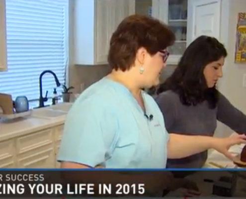 Gayle Goddard on KHOU News segment