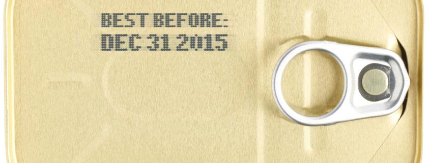 Sardine can with Dec 31 2015 expiration date