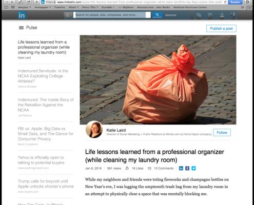 Katie Laird's blog