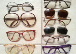 Forty years of old glasses