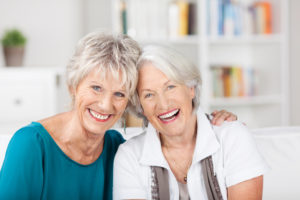 Women enjoying retirement