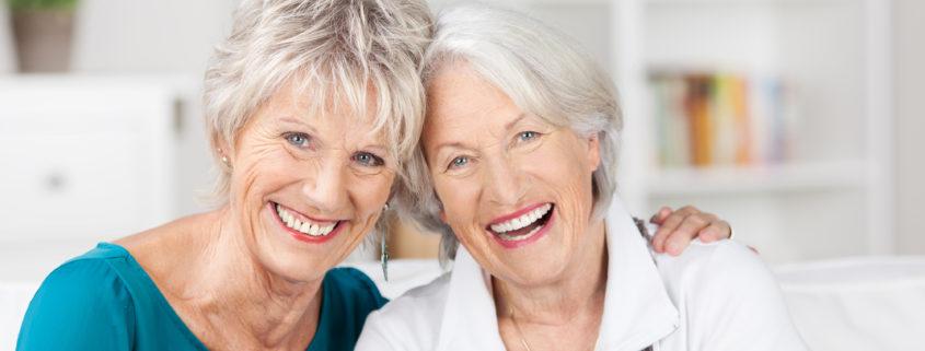 Women enjoying retirement