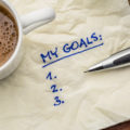 Goals list on napkin