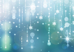 Sparkly blue holiday background