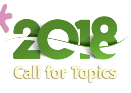 Call for Topics for 2018