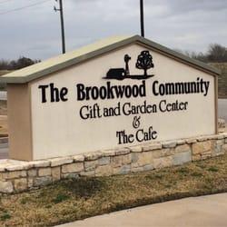 The Brookwood Community sign